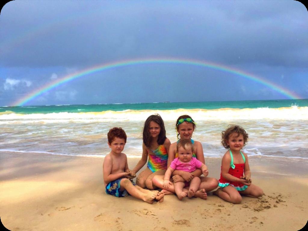 Wilson Munkas in a Rainbow